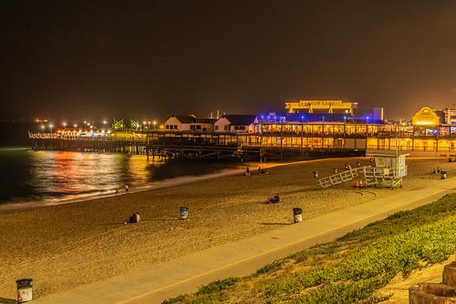 Redondo Beach Pier at Night