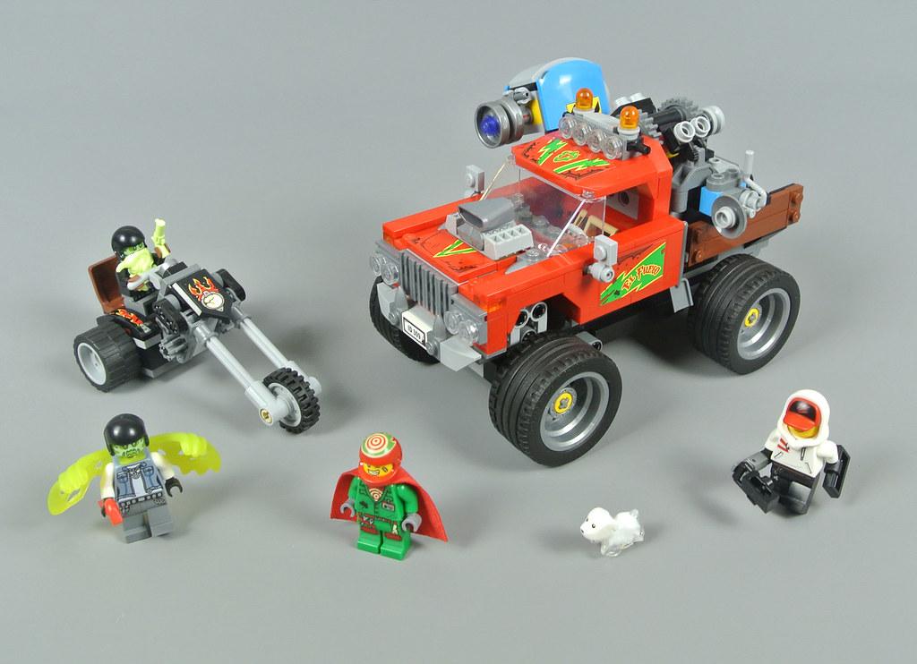 LEGO Hidden Side 70421 El Fuego's Stunt Truck review