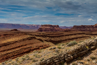 towards monument valley