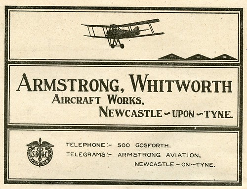 Armstrong, Whitworth Aircraft Works