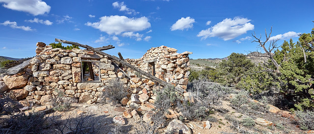 Abandoned Building in Nye County