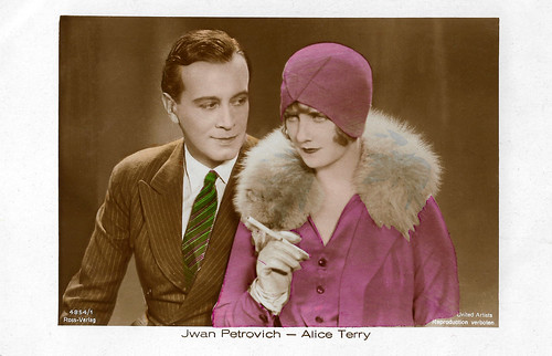 Ivan Petrovich and Alice Terry in The Three Passions (1928)