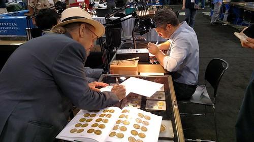 SS Central America Bob Evans recording book transaction