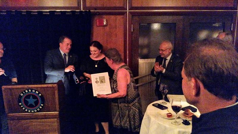 IAPN Catharine Lorber receiving award2 ANA 2019