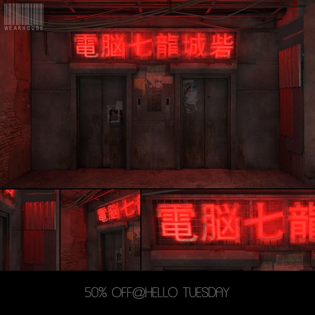 ★ElevatorRoom/50%OFF@HelloTuesday - TeleportHub.com Live!