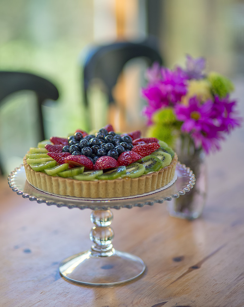 Fresh Fruit Cream Tart