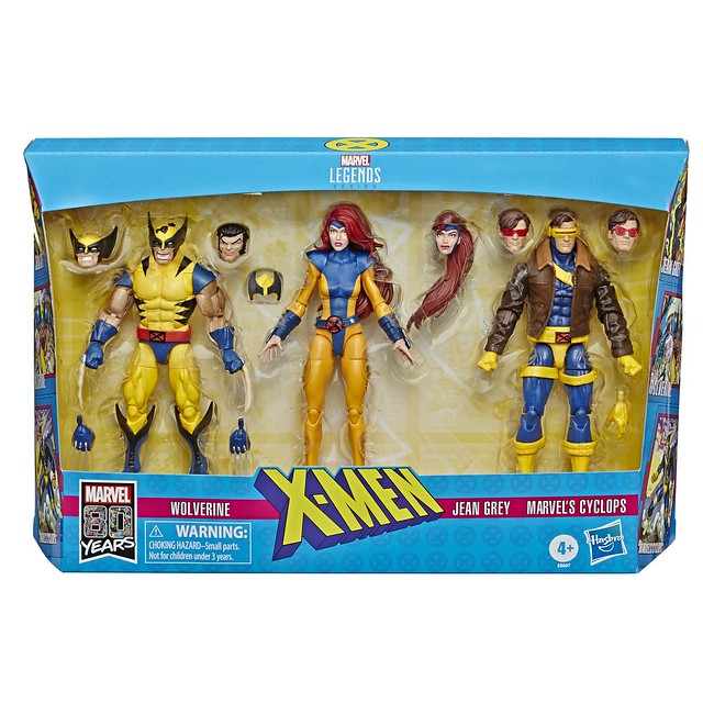 Hasbro 漫威傳奇系列【X戰警三人包】Marvel Legends Series X-Men 3-Pack