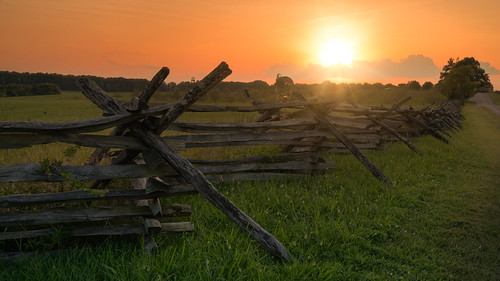 gettysburg pennsylvania sunset pa evening outside outdoors history national park service landscape flickr photography color sun sunlight august summer sony alpha a7rii ilce7rm2 tamron 2875 zoom trees field grass clouds tamron28