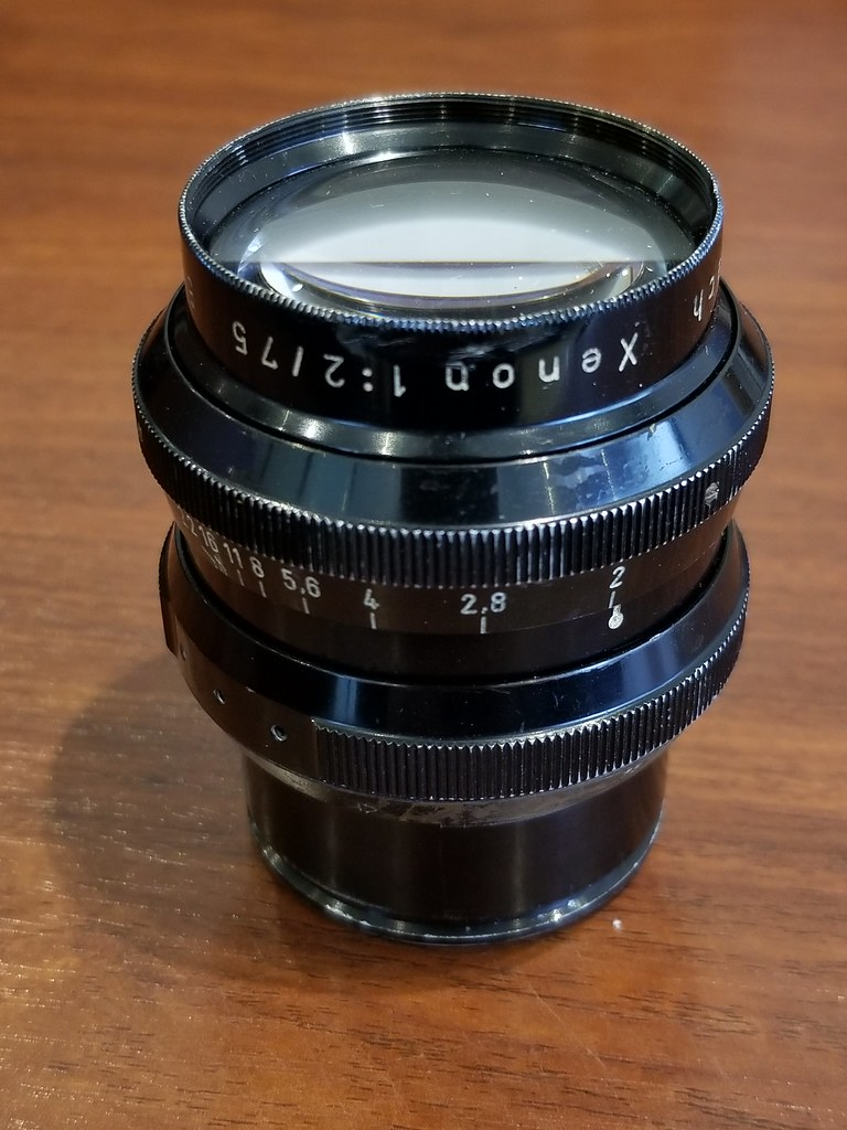 Xenon 75mm F2 Arriflex STD