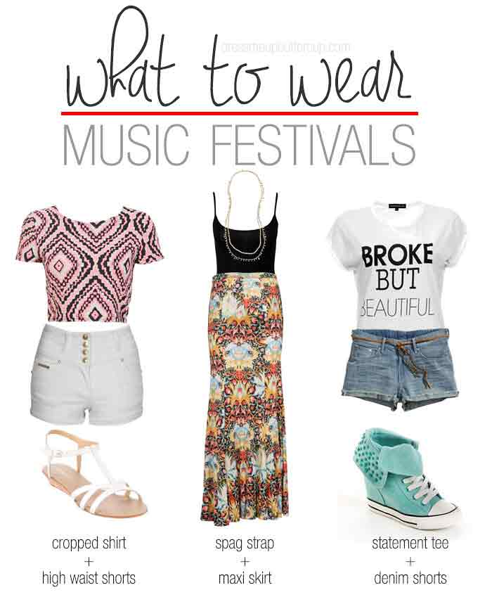 3 Music Festival Outfit Ideas That Are Comfortable To Wear