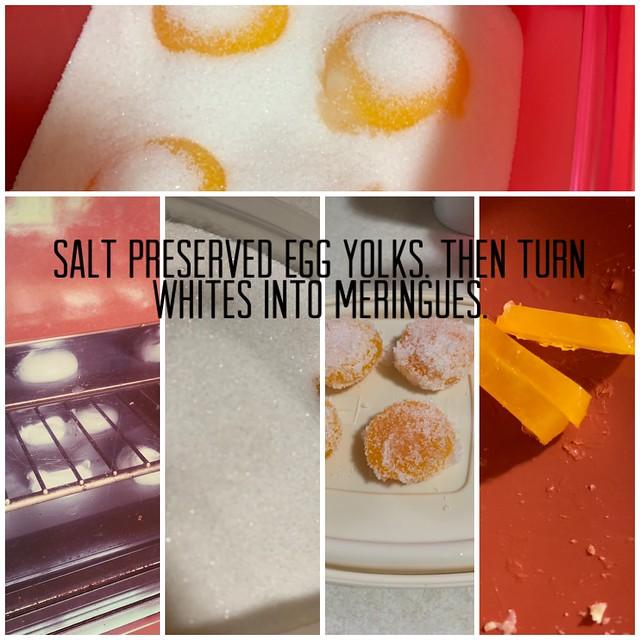 Salt Preserved Egg Yolks