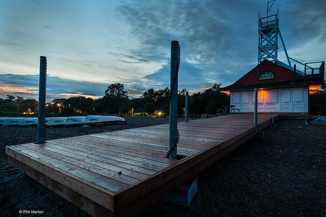 Leuty Lifeguard Station after dush - Kew Beach, Toronto
