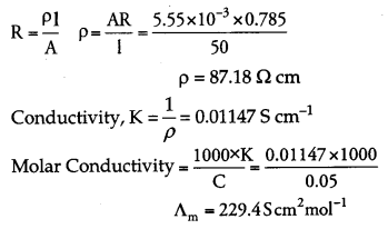 CBSE Previous Year Question Papers Class 12 Chemistry 2012 Outside Delhi Set I Q20