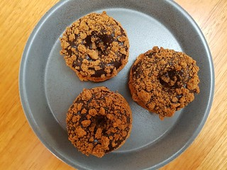 Baked Speculoos Doughnuts