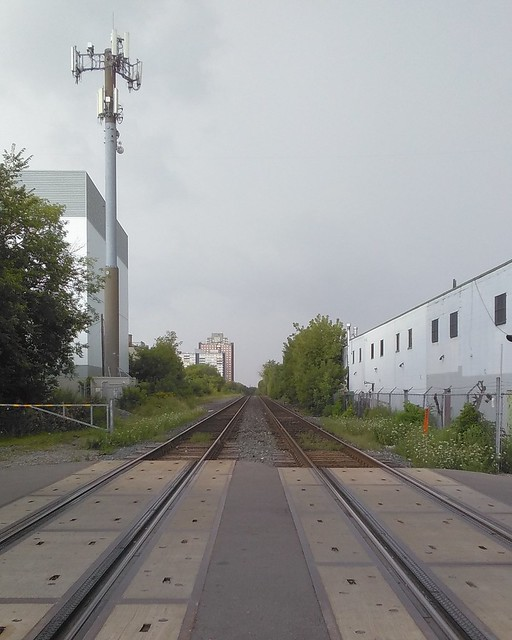 Looking west along the tracks #toronto #rail #tracks #bartlettavenue #Davenport #dovercourtvillage #latergram