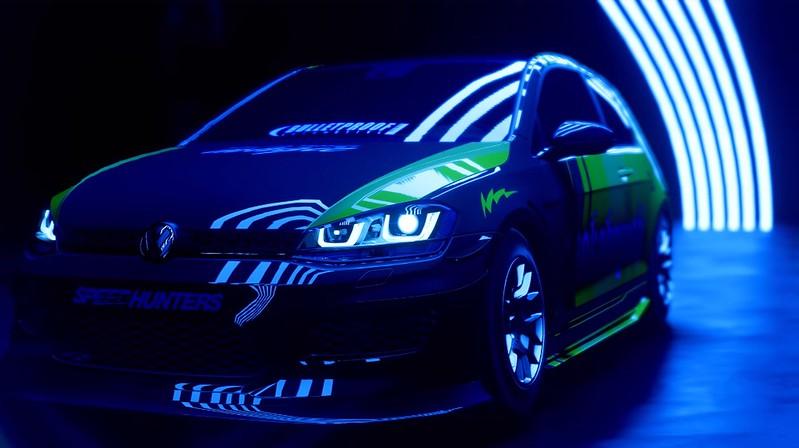 Necesidad de calor de velocidad - Volkswagen