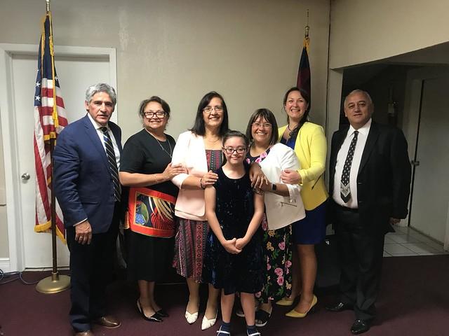 Despedida de Iglesia de Miami a delegación chilena