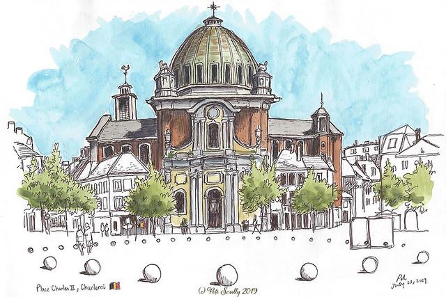 Charleroi Eglise St Christophe