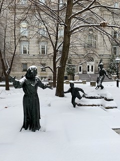 Snowy Montreal.