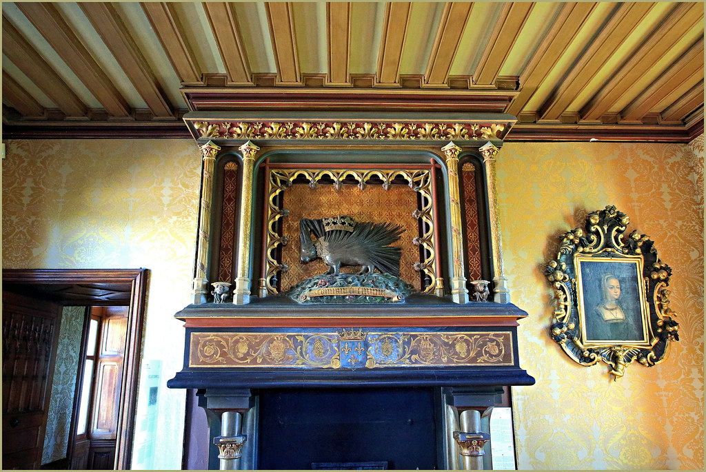 Le grand salon, Château de Chaumont, Chaumont-sur-Loire, Loir-et-Cher, France