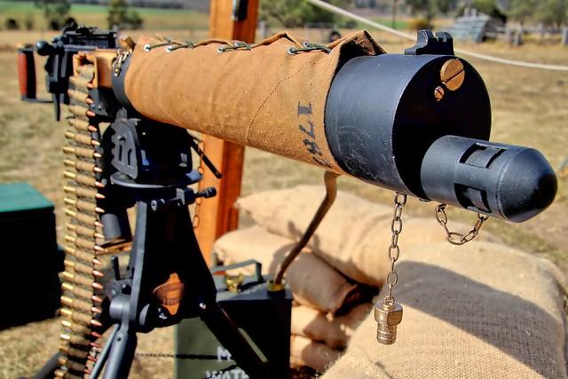 Vickers Machine Gun.