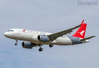 F-WWIO Airbus A320 Neo Air Travel