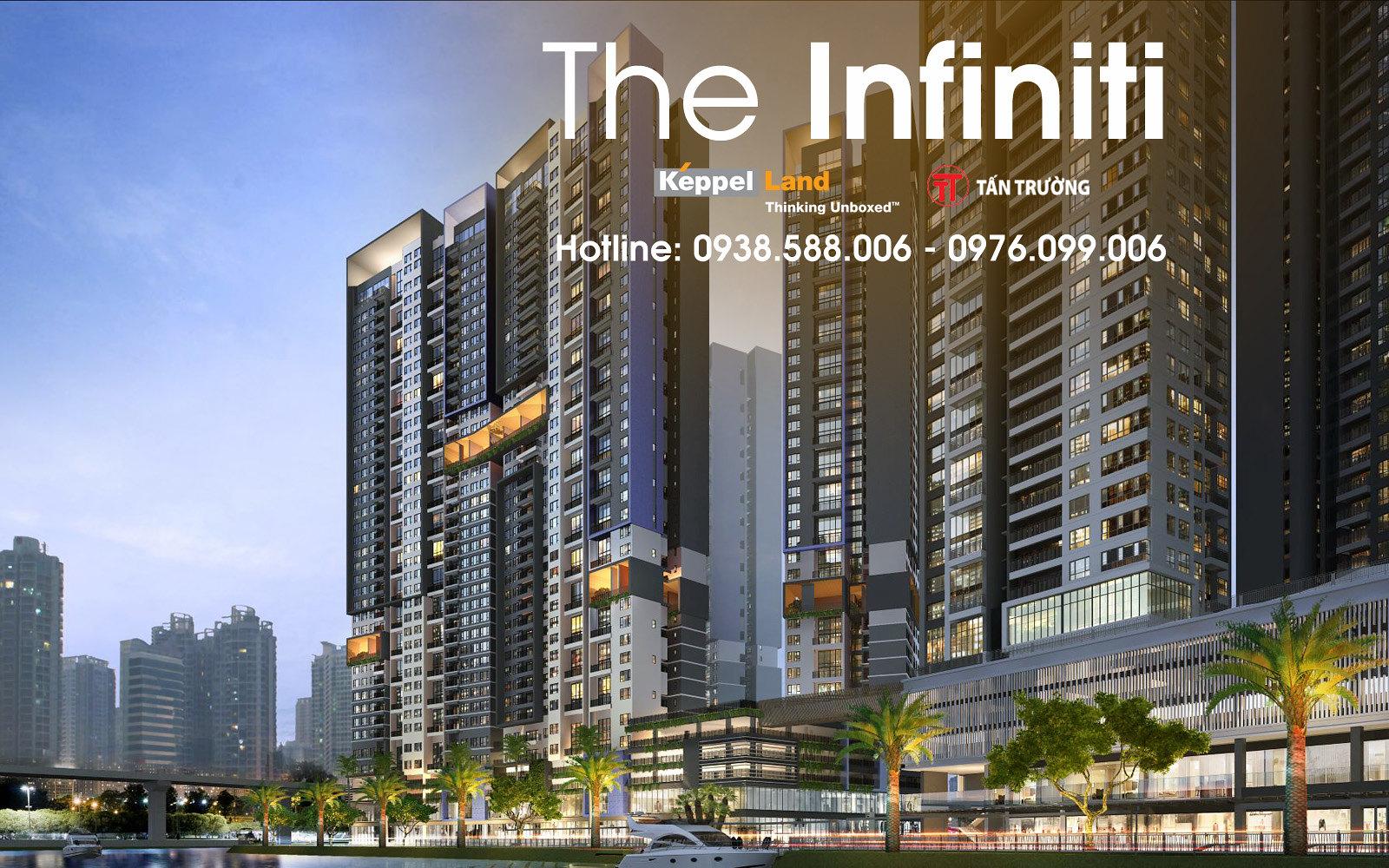 Thiết kế quy mô và bóng bẩy của The Infiniti.