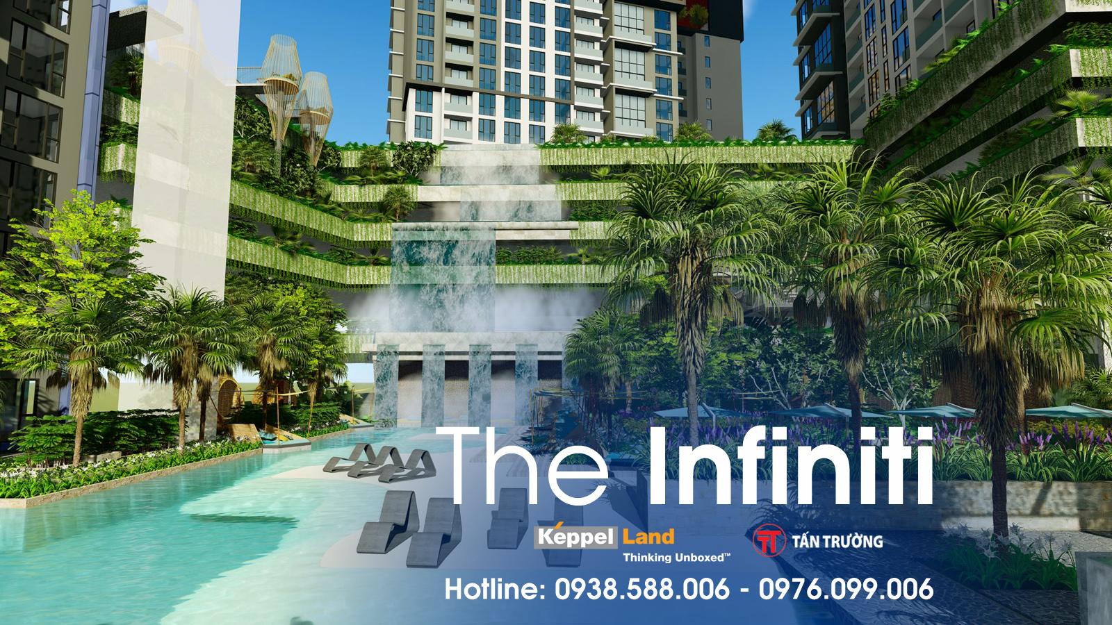 Tiện ích mang phong cách khu nghỉ dưỡng Hawaii tại dự án The Infiniti.