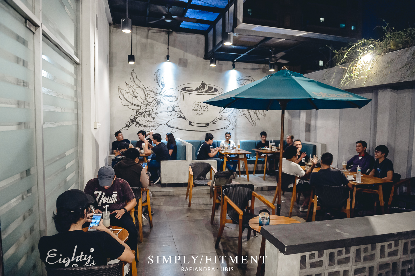 NGOPI BARENG SIMPLYFITMENT X GETTINLOW DI DE ENTRANCE ARKADIA