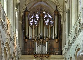 Bayeux (Calvados) - Cathédrale Notre-Dame - Orgue de tribune