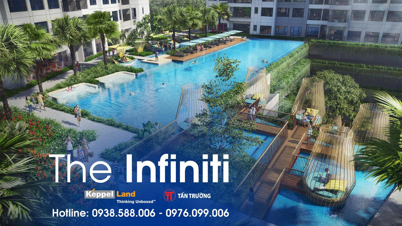 Dự án The Infiniti có công viên nước mặn 1700m2 quy mô lớn nhất Nam Sài Gòn.