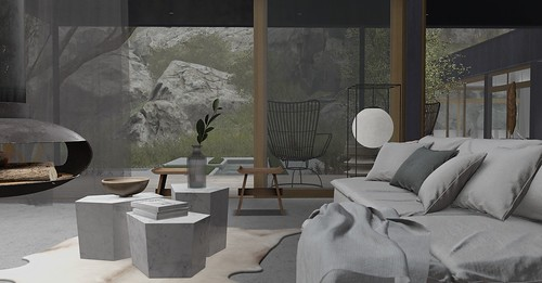 Jack Hanby Interiors; Client Miaa Rebane - Open plan living