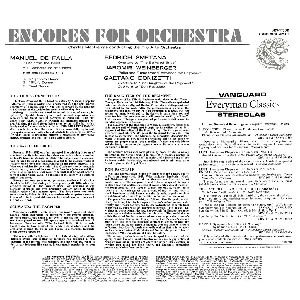 Charles Mackerras - Encores for Orchestra