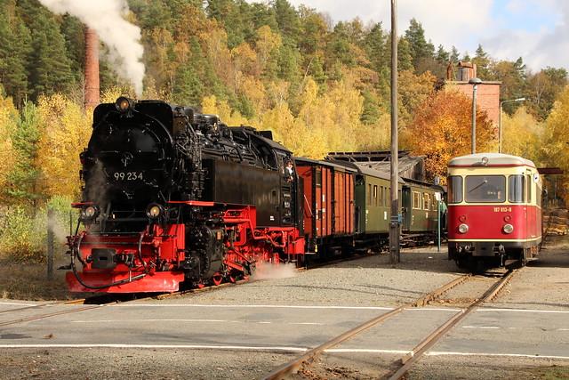 2018-10-21; 0044. HSB 99 234 met GmP Sonderzug. Silberhütte.