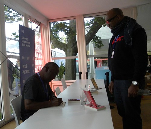 Alex Wheatle and Kwame Alexander