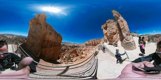 Bryce Canyon Entry Navajo Loop - 360 VR Photo USA Roadtrip