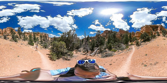 Red Canyon Utah - Bryce -360 VR Photo USA Roadtrip