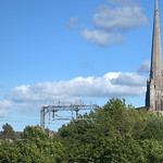 Spire of Church of St Walburge, Preston