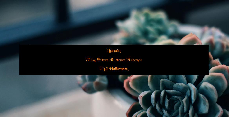 leo halloween countdown free prestashop module