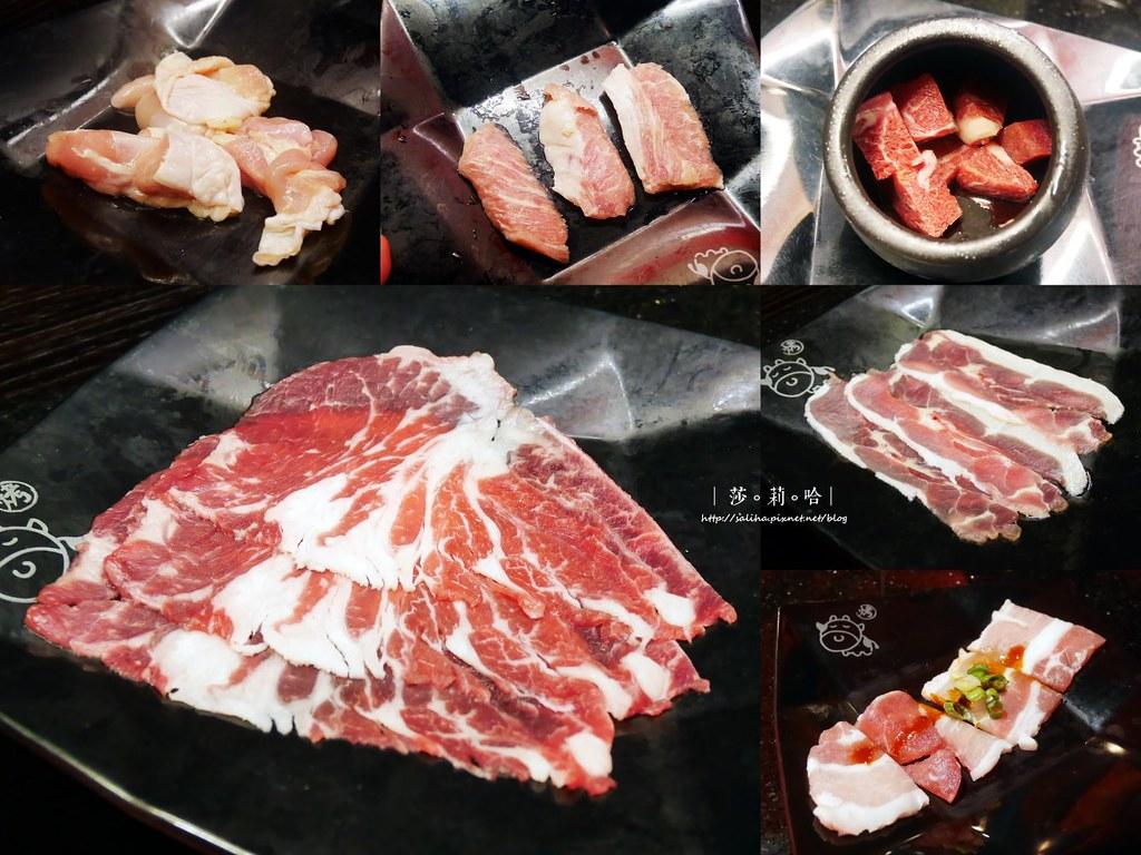 台北火鍋燒烤吃到飽小蒙牛新莊店火烤兩吃 (1)