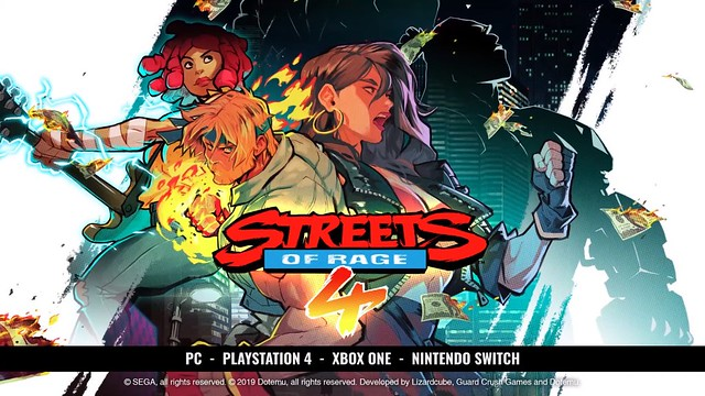 Streets of Rage 4 - Characters
