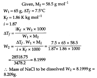 CBSE Previous Year Question Papers Class 12 Chemistry 2011 Outside Delhi Set II Q19