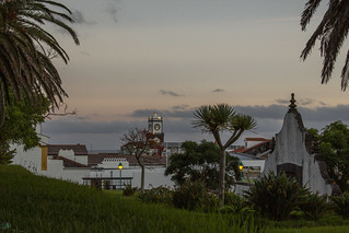 Sunset at Ponta Delgada (San Miguel)