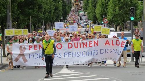 Mani Movimiento Pensionistas Txingudi 19-08-2019
