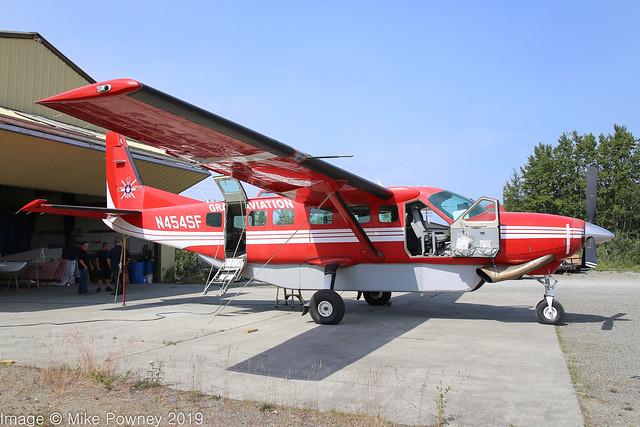 N454SF - 1999 build Cessna 208B Caravan, undergoing maintenance at Big Lake