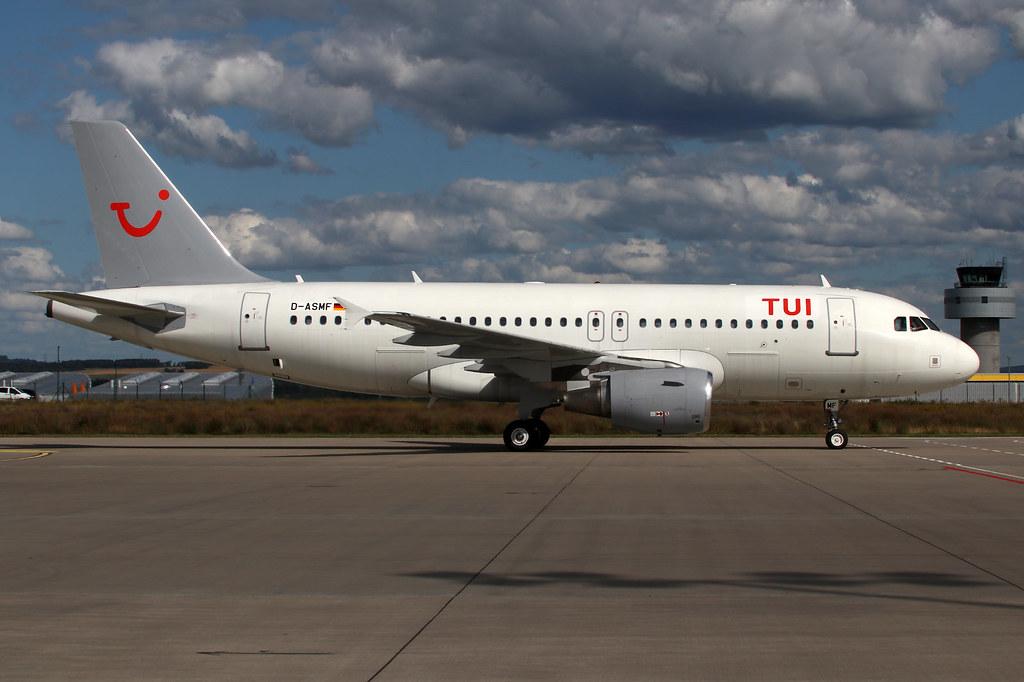 Sundair TUIfly A319 D-ASMF