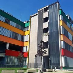#Buongiorno Sapienza con una foto dell'Edificio Marco Polo di @elinedion