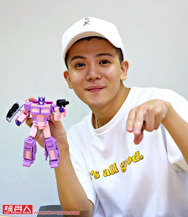 《變形金剛35周年》Wackyboys反骨男孩孫生:「想跟柯博文一起變身成粉紅色少女系偶像(?)」