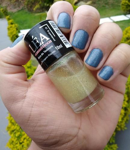 Esmaltação das Corujas - Agosto - Glitter fininho