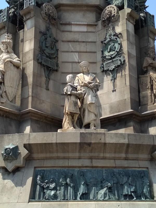 Барселона - Скульптуры